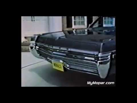 1972 Dodge Monaco TV Commercial
