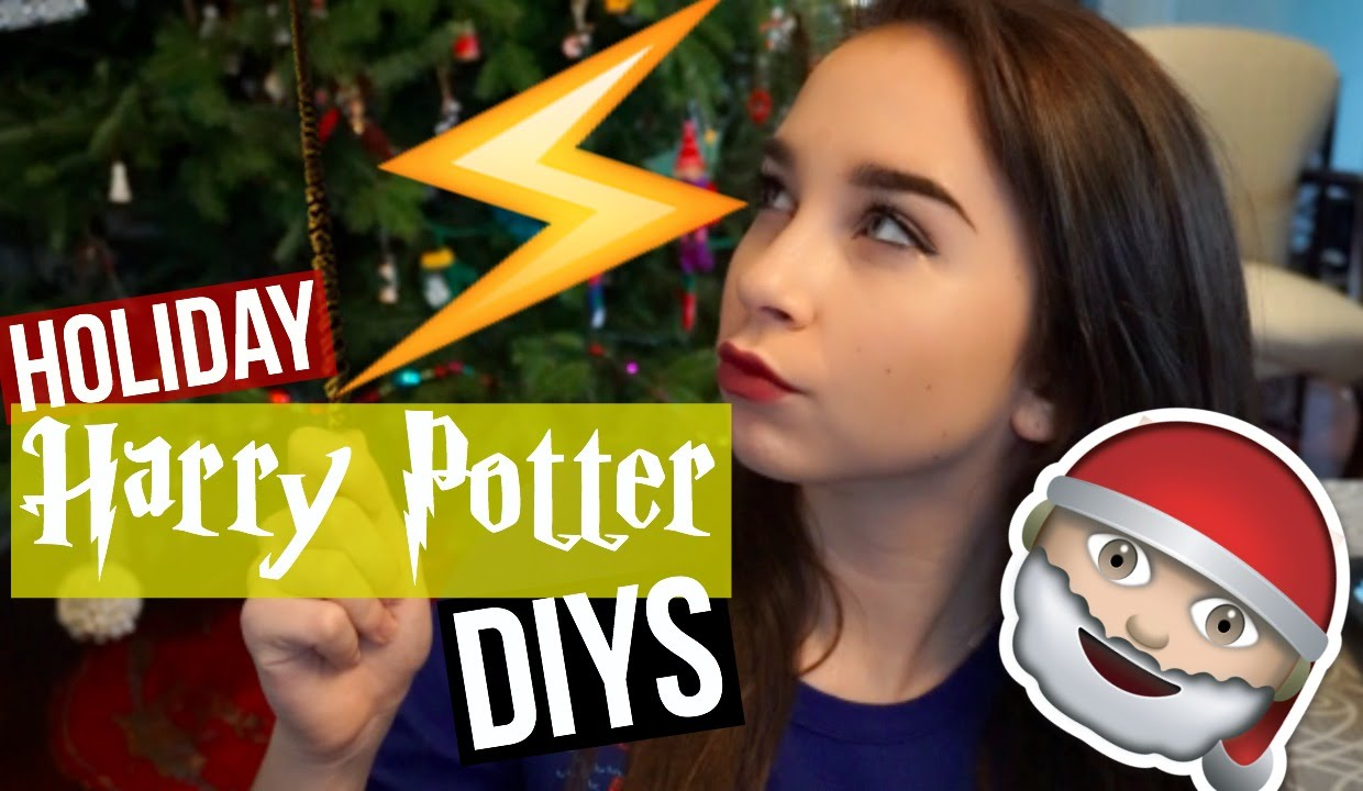 Diy harry potter holiday decor gift ideas youtube for Harry potter christmas present ideas