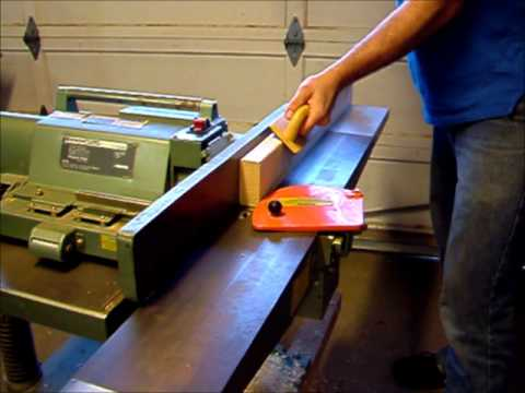 Intro To Planer Jointer