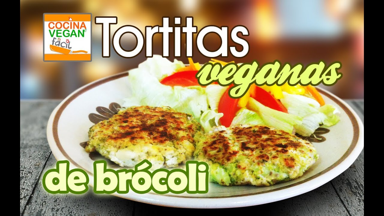 Tortitas veganas de br coli cocina vegan f cil youtube - Videos de cocina facil ...