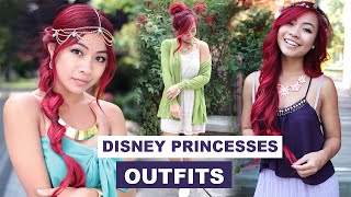 Disney Princesses Outfits l DisneyBound Outfits l Dress Like a Disney Princess