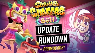 WHAT'S NEW? - Free Stickers, Bali Review & More | Subway Surfers Update Rundown