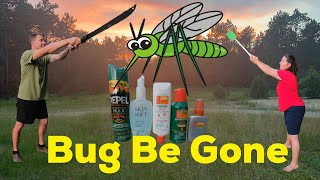 We use HUMOR and AVON SKIN SO SOFT to fight off the summer bugs