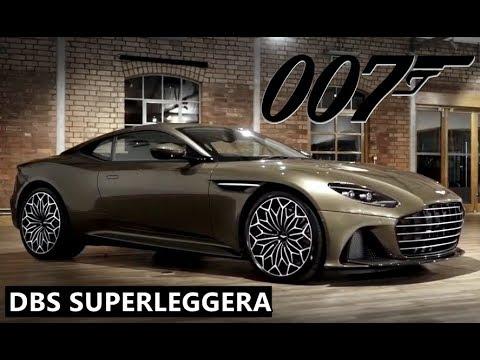 Aston Martin Dbs Superleggera James Bond Edition Youtube