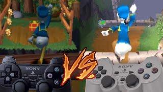 PlayStation 2 Vs PlayStation - Donald Duck: Goin