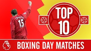 Top 10: Liverpool's best Boxing Day games | Great festive games featuring Gerrard, Firmino and more