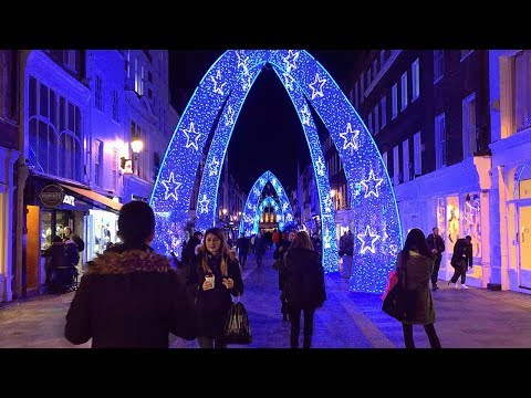 BEST London Christmas Lights 2017 | England