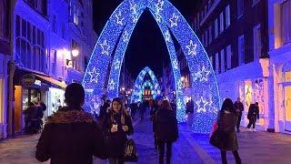 BEST London Christmas Lights 2017 | England