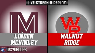 City League Championship: Walnut Ridge vs Linden Mckinley