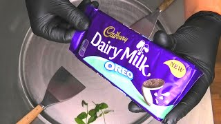 Cadbury Oreo Ice Cream Rolls | how to make Ice Cream with Cadbury Chocolate, Oreo Cookies and Mint