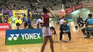 杉山 薫 vs 大澤 陽奈 6年 決勝 全国小学生2015