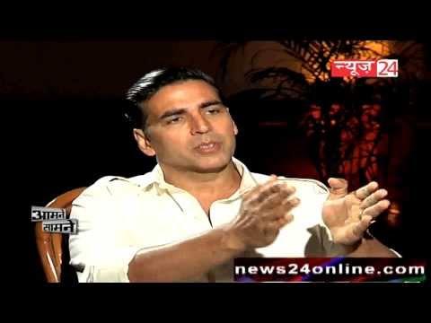 EXCLUSIVE || अक्षय कुमार ||Akshay Kumar in आमने सामने