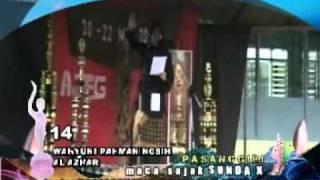 Pasanggiri Maca Sajak Sunda X-Teater KAPPAS SMA Pasundan 2 Tasikmalaya-Wahyuni Rahmaningsih-Al Azhar
