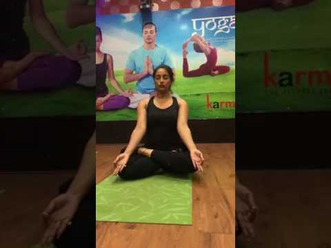 Sayantika Banerjee workout at Yoga Center..!! What is Fitness ..?