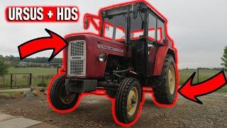 HDS i Przyczepa do Traktora