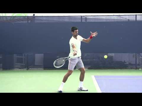 """Phải tay 'forehand"""" của Djokovic quay chậm qua video – DancoSport.com"""