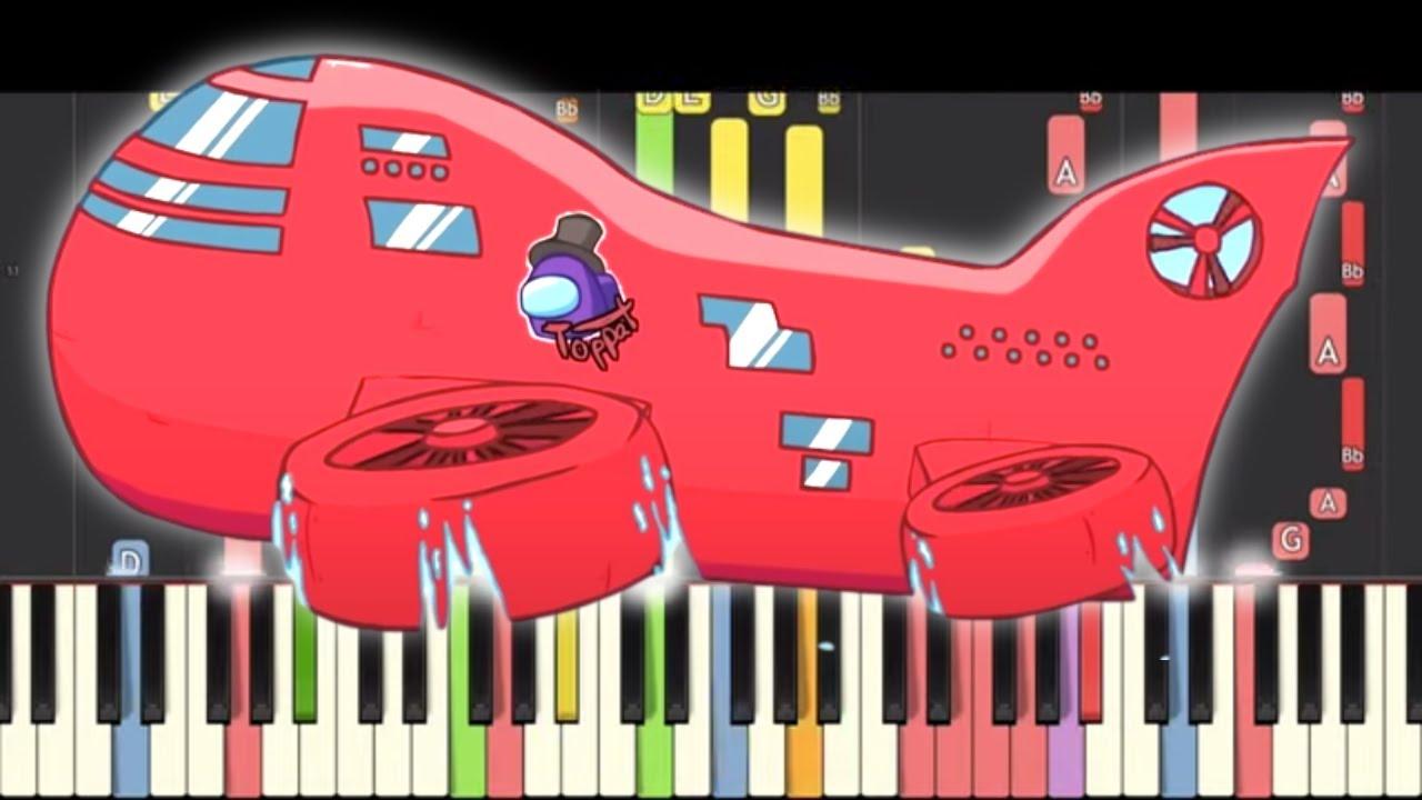 Among Us - The Airship Map Theme - Piano Remix
