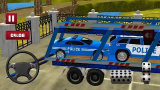 Transport Truck Police Cars: Transport Games | Android/ios Gameplay 2018