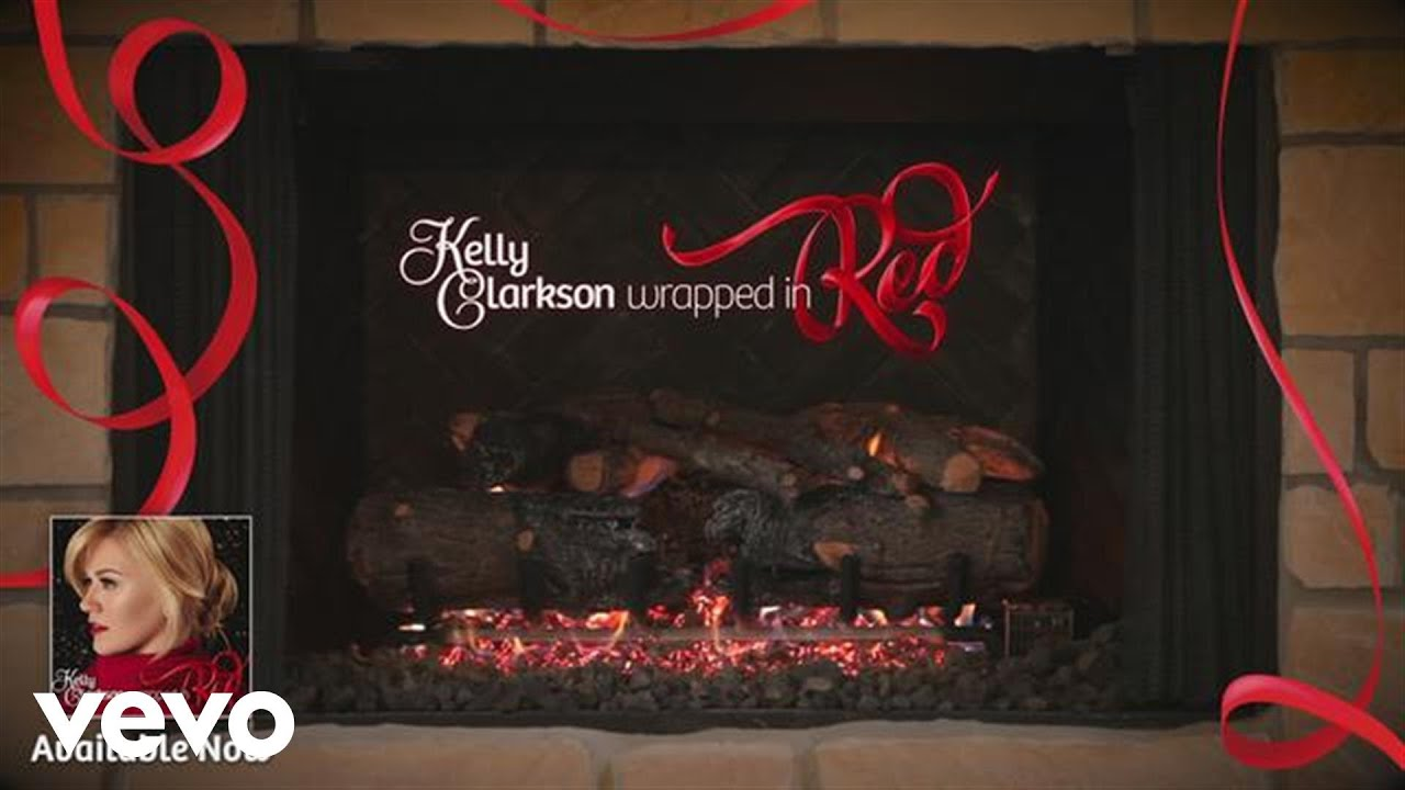 Download Kelly Clarkson - Underneath the Tree (Kelly's 'Wrapped in Red' Yule Log Series)