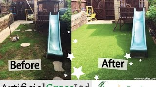 Lifestyle Elite Artificial Grass Garden Transformation