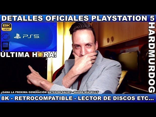 ¡PS5 OFICIAL! - Hardmurdog - Noticias - Sony - Playstation 5 - 2019 - Español