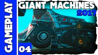 Giant Machines 2017 - Abastecendo Caterpillar e Cortando Madeiras