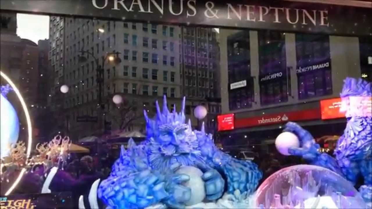Macy\'s Window Christmas Holiday Display 2014 - NYC - Planets in ...