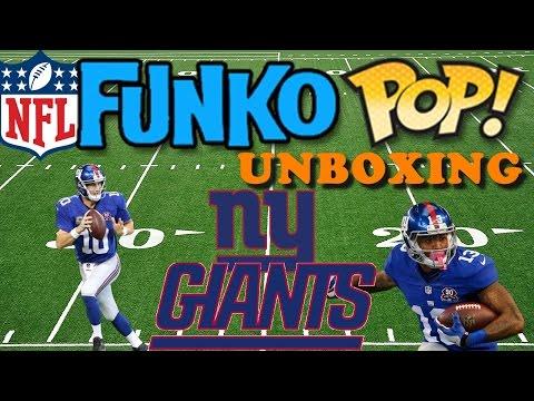 NFL Funko POP Haul & Unboxing :: New York Giants :: National Football League