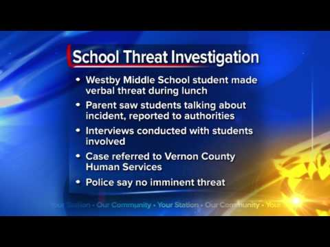 Police investigate threat at Westby Middle School