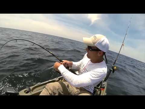 Kayak Fishing on the Alabama Gulf Coast