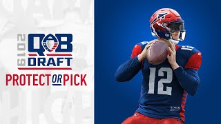 Alliance of American Football | AAF Quarterback Draft 3rd Round