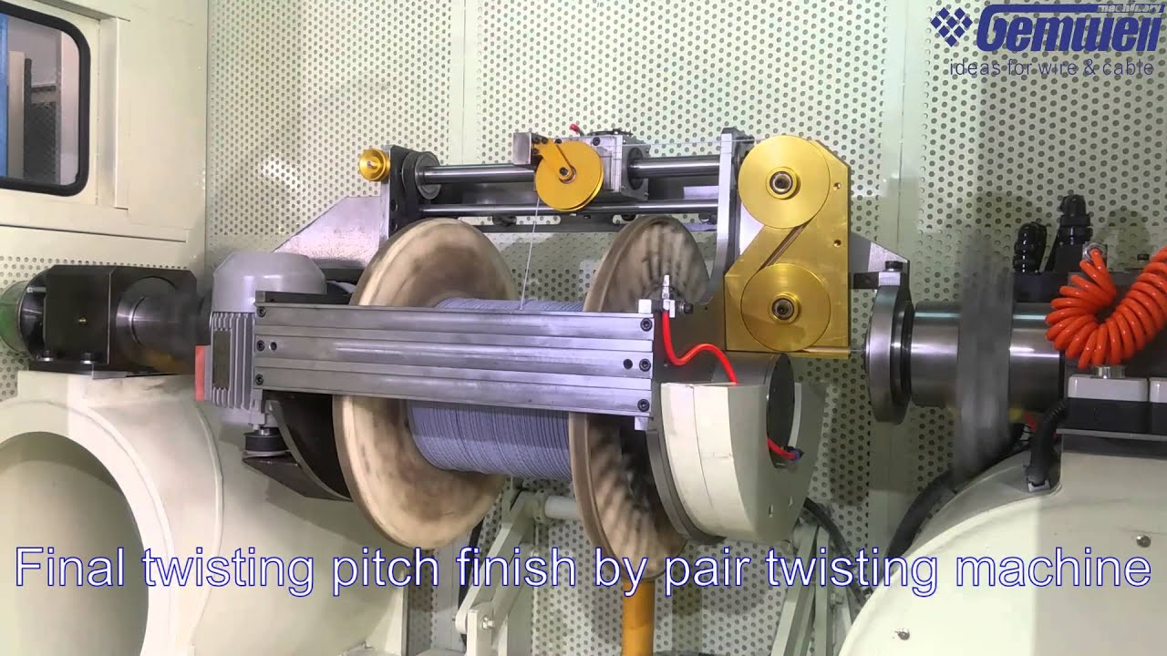 Triple Twisting Machine For Lan Cable Cat5 Cat5e Cat6 Cat7 Twisted Pair Wiring Solutions Ltd Youtube