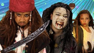 Pirates of the Caribbean Finger Family Song | SillyPop