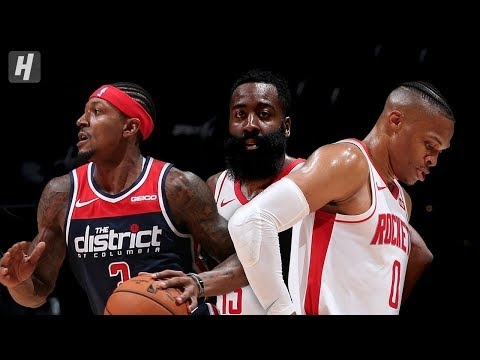 In The Zone - SO. MANY. POINTS. James Harden Drops 59 in Rockets vs Wizards Scoring Fest