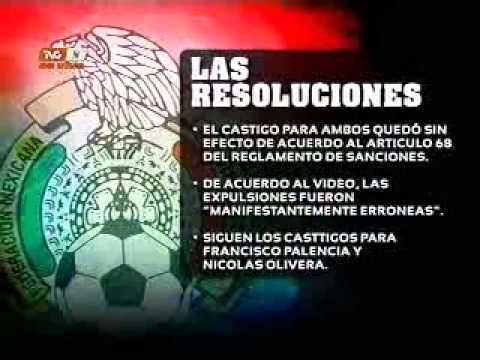 TVC Deportes Total - Perdonan expulsiones a Talavera y Cervantes (25-03-2011)