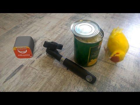 Удобный консервный нож с Aliexpress
