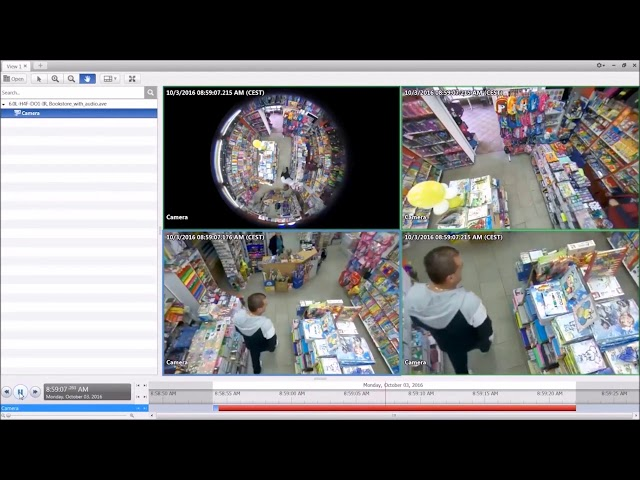 Krypto Security presents the Avigilon 12Megapixel Fish Eye Camera