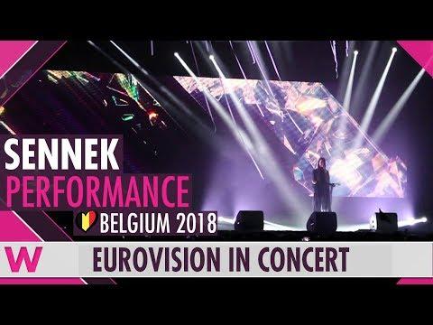 "Sennek ""A Matter of Time"" (Belgium 2018) LIVE @ Eurovision in Concert 2018"