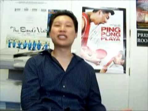 Ping Pong Playa Jimmy Tsai talking about community support for Asian American films