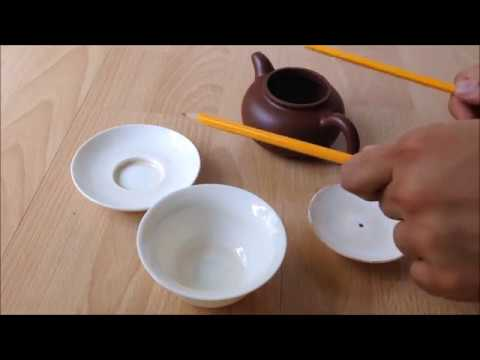 Darude - Sandstorm - remix played with pencils on tea tableware