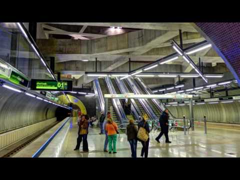 M4 Metro stations Budapest