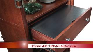Howard Miller Wine Bar Cabinet | 695120 Suttons Bay