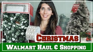 WALMART CHRISTMAS HAUL & Shop With Me 2018 | Momma From Scratch