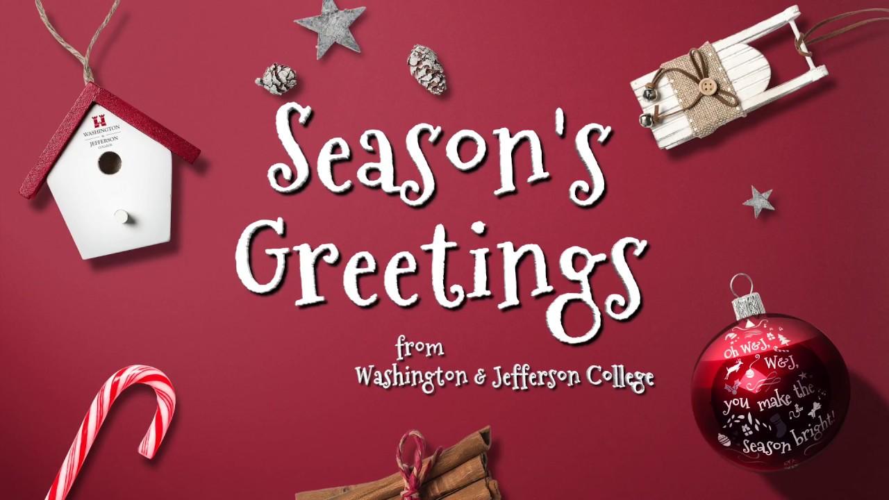Seasons greetings from wj youtube seasons greetings from wj m4hsunfo