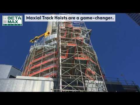 beta max maxial track hoists