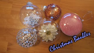 D.I.Y | Christmas Baubles