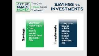 The Art of SMART Money Investing 101 Part 3 - Basic Investment Principles
