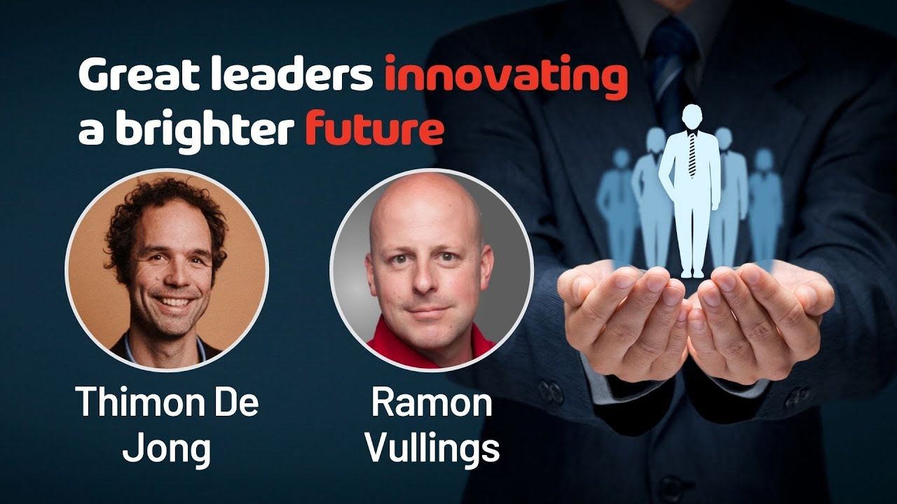 Great leaders innovating a brighter future
