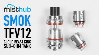 SMOKTech TFV12 Cloud Beast King Tank Video