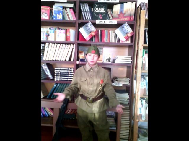 Изображение предпросмотра прочтения – ЗахаровПрохор читает отрывок изпроизведения «Василий Теркин» А.Т.Твардовского